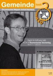 Ausgabe 9 • April 2010 - St. Joseph Mastbruch