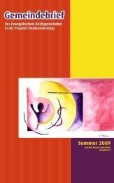 GB2009-06_07_08_09 - Ev.-Luth. Kirchengemeinden ...