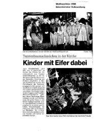 Zeitungartikel St. Peter und Paul Brochterbeck 1996 - Katholische ...