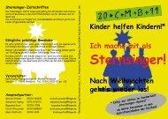 Sternsinger! - Pfarrgemeinde St.Michael, Waldbröl