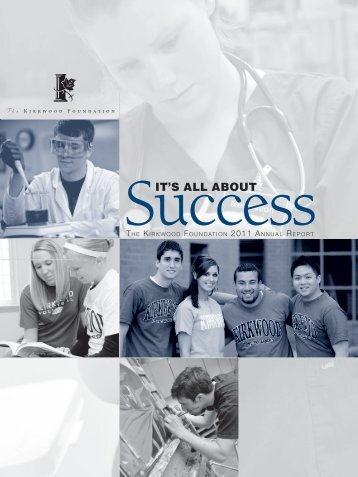 it's all about - Kirkwood Community College