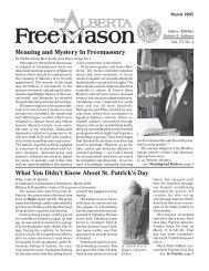 Freemasonry - The Worship Of Lucifer - The Masonic Trowel