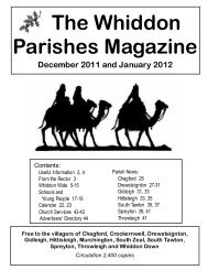 Whiddon Parishes Magazine - The church of St Michael the ...