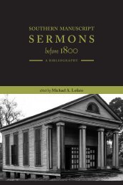 SERMONS - University of Tennessee, Knoxville