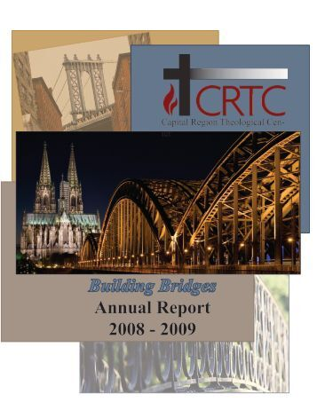Building Bridges Annual Report 2008 - 2009 - Capital Region ...
