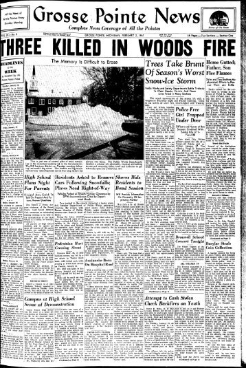 Trees Take Brunt Home Gulted; Snow-Ice Storm - Local History ...