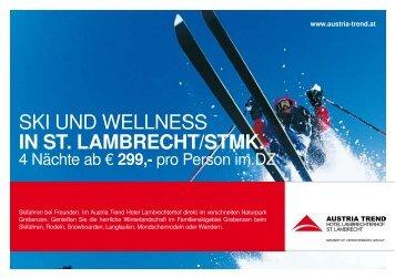 Ski und WellneSS in St. lambrecht/Stmk. - Austria Trend Hotels ...