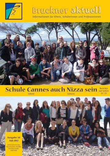 Schule Cannes auch Nizza sein - cometo