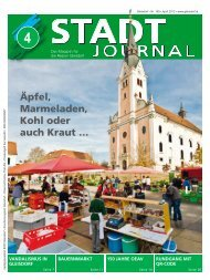 April - Ausgabe - Stadtgemeinde Gleisdorf