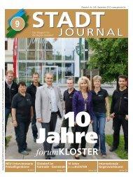 September - Ausgabe - Stadtgemeinde Gleisdorf