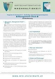 Management-Check - WIN - Steiermark