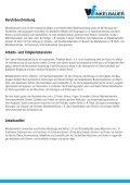 Metallbearbeitung (Lehrberuf) Lehrzeit: 3,5 Jahre - Seite 2