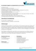 Metallbearbeitung (Lehrberuf) Lehrzeit: 3,5 Jahre - Seite 3