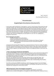 zum Artikel - Vienna Business School