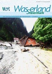 Die Wasserzeitschrift der Steiermark 2/2012 - Wasserland Steiermark