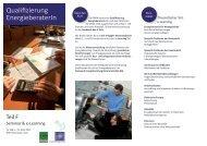 Qualifizierung EnergieberaterIn - LandesEnergieVerein Steiermark