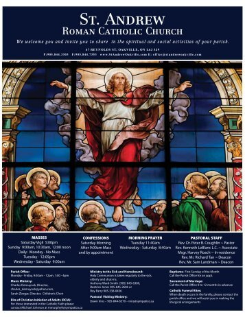 Celebrating - St. Andrew Church