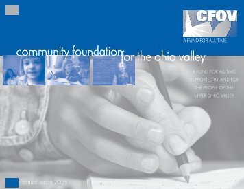 community foundationfor the ohio valley