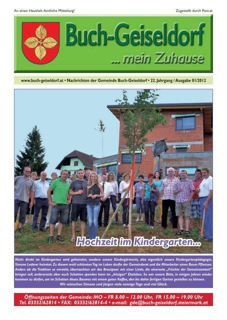Gemeindezeitung Juli_2012.indd - Gemeinde Buch-Geiseldorf