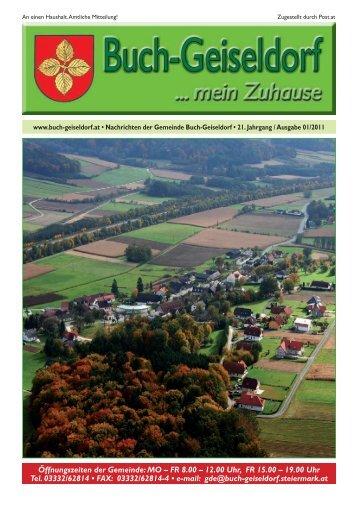 01_2011_Juli - Gemeinde Buch-Geiseldorf