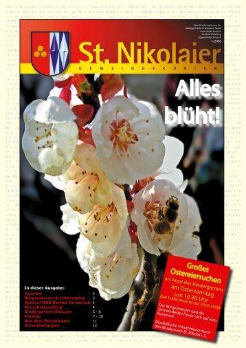 Zeitung Ostern 2008 - Marktgemeinde St. Nikolai im Sausal