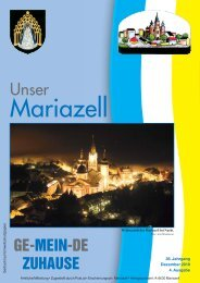 Ausgabe Dezember 2010 - Stadt Mariazell