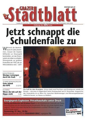 stadtblatt november.indd - KPÖ Graz