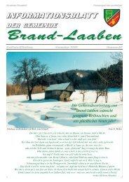 GEMEINDEZEITUNG - 30 - Dezember 2004 (2 MB) - Brand-Laaben
