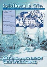 Ausgabe Dez 2006.indd - Gemeinde Spielberg