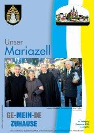Ausgabe Dezember 2009 - Stadt Mariazell