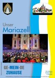 Ausgabe Oktober 2012 - Stadt Mariazell