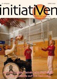 Auch die Zuseher kamen beim Sitzfußball - Leben mit Behinderung