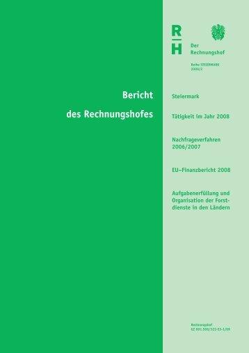 Steiermark 2009/2 - Der Rechnungshof