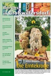 Oktober 2008 / Nr. 95 (2,38 MB) - Großwilfersdorf