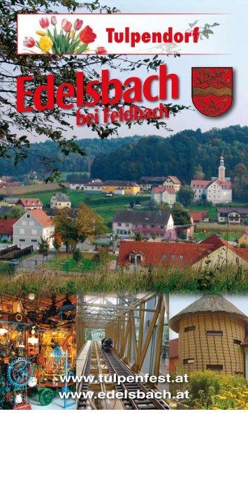 Tulpendorf - Gemeinde Edelsbach bei Feldbach