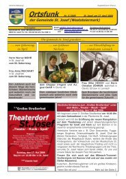 Ortsfunk-Mai-2009 - Gemeinde St. Josef