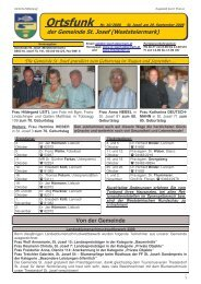 Ortsfunk-Oktober-2008 - Gemeinde St. Josef