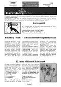 ZUHAUSE MEIN Seerosenbaderöffnung - Gemeinde Kirchberg an ... - Page 5