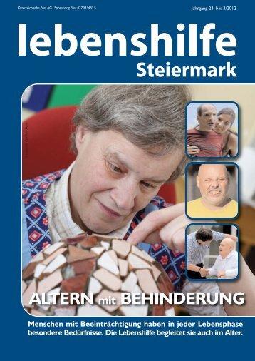 Nr. 3/2012 - Lebenshilfe Steiermark