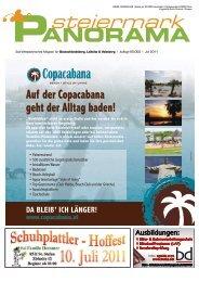 Ausgabe 06/11 - Steiermark Panorama