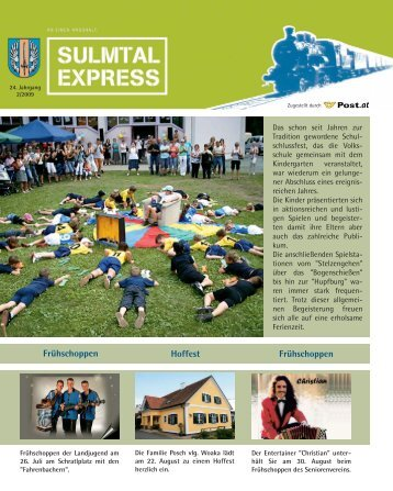 Frühschoppen Frühschoppen Hoffest - Gemeinde Heimschuh