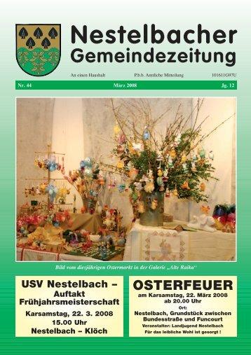 März 2008 / Nr. 44 - Nestelbach im Ilztal