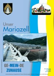 Ausgabe Juli 2008 - Stadt Mariazell