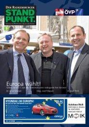 Europa wählt! - Steirische Volkspartei
