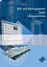 Prüf- und Wartungsplaner Direkt - Forum Verlag Herkert GmbH