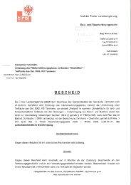 Amt der Tiroler Landesregierung - Tannheim