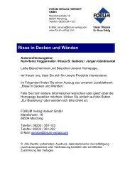 3/2 Rissklassifizierung - Forum Verlag Herkert GmbH