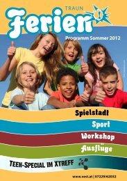 Programm Sommer 2012 - Veranstaltungsservice Traun Gmbh