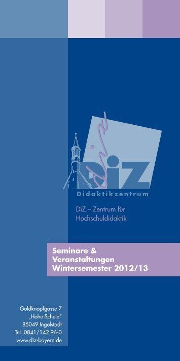 Unterricht gestalten und lehren - DiZ
