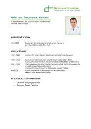 PD Dr. med. Enrique Lopez Hänninen